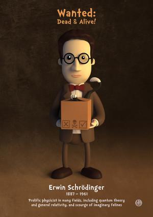 chayground › Portfolio › Erwin Schrödinger - Wanted: Dead & Alive ...