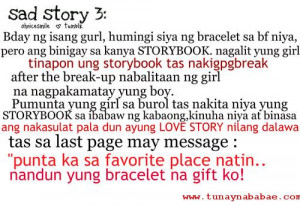 sad story love quotes tagalog