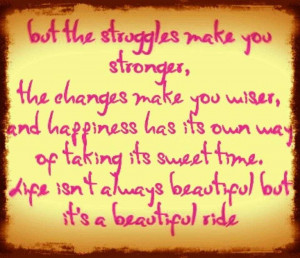 Inspirational Quotes About Life Struggles Cool Struggles Quotes Frenzy ...