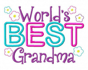 Related to : Worlds Best Grandma