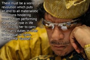 Best Gaddafi Quotes