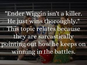Ender Wiggin Quotes
