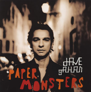 David Gahan Paper Monsters Display Set USA DISPLAY/POS MATERIAL ...
