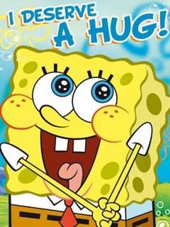 Spongebob Wallpaper 240x320 cute, funny, sponge, spongebob,