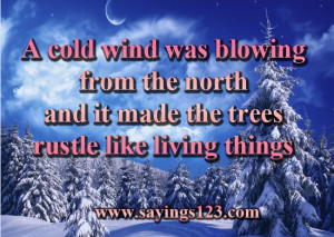 winter quotes and sayings