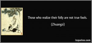 More Zhuangzi Quotes