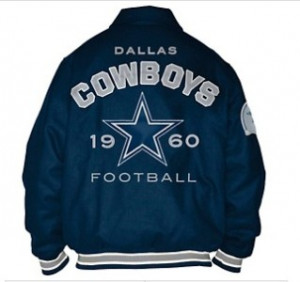 Details about Dallas Cowboys Official NFL Wool Varsity Jacket by G III
