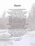 inspirational poems for pastors Poem about Pastors
