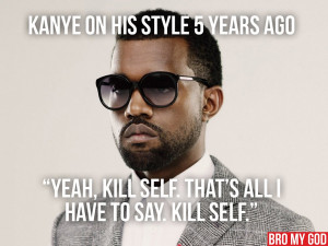 Kanye West Funny Quotes 20 kanye west quotes from the