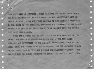 Telegram, Richard Russell to Harry S. Truman, August 7, 1945. Official ...