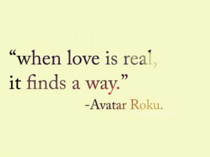 When love is real, it finds a way