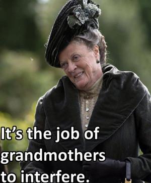 Violet Crawley (Maggie Smith) in Downton Abbey, season 4, episode 1 ...