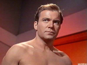Captain James T. Kirk in 'Conscience of the King'.