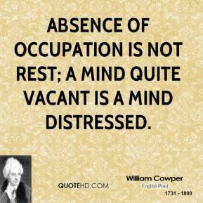 William Cowper Death Quotes