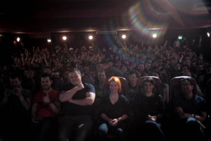 Rian Johnson s picture of the audience taken during his Q amp A
