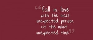 quotes about falling in love unexpectedly