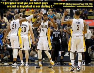 Quote | Who Said It: Paul George, No.24, Forward-Guard, Indiana Pacers ...