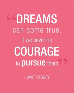 Walt Disney Quote Printable Print Great for Children's Room or Nursery ...