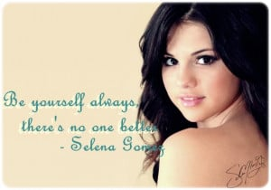 Selena Gomez Quote 2 By