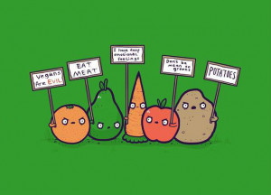 Vegans are evil – Potatoes