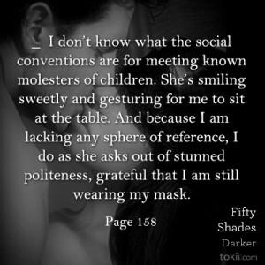 ... am still wearing my mask.