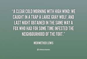 Cold Morning Quotes