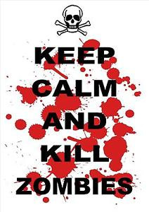 FUNNY-QUOTE-POSTER-PRINT-KEEP-CALM-AND-KILL-ZOMBIES