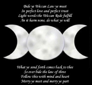 wiccan sayings