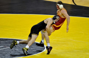 iowa city iowa the university of iowa wrestling team won nine of 10 ...