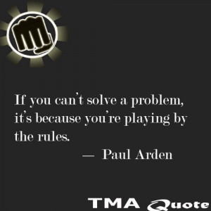 Life Quote About Playing By The Rules
