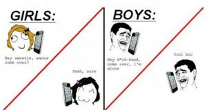 Girls vs Boys 1 Funny: Girls vs Boys
