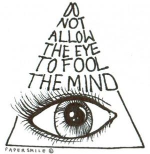 art, b&w, drawing, eye, illuminati, illustration, text, textual ...