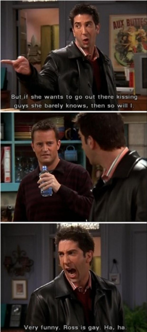 funny quotes from Ross on Friends tv show