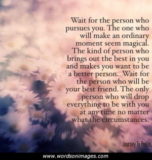 Waiting for You Love Quote