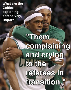 Rajon Rondo Added Insult To The Heat's Injury With This Quote At ...