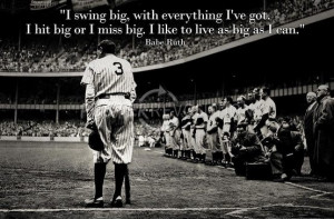 Babe Ruth by Nat Fein on Getty Images