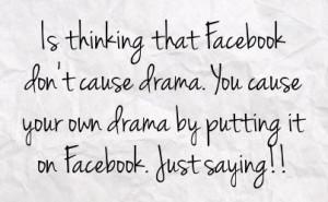 Drama Quotes For Facebook