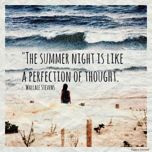 Summer's Night... #quotes #summer