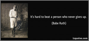 More Babe Ruth Quotes