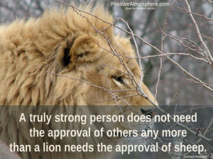 Strong Lion Quotes