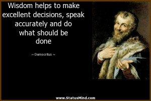 Quotes by Democritus