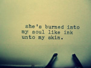 She burnt in to my soul quote Mad Typist Facebook Revolution Flame ...