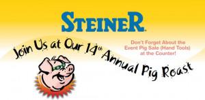 Pig Roast BBQ Cookout at Steiner