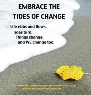 Healthy Living Tip: Embrace Change
