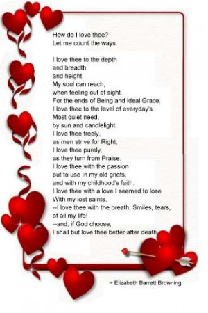 Love Romantic Poems Romantic Poems for Her for the Girls You Like for ...