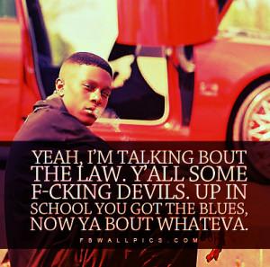 Lil Boosie Law Devils Quote Picture
