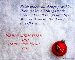 Merry Christmas Quotes, Messages, Sayings for cards