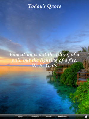 Scenic Quotes for iPad - Daily Inspirational Quotations and Sayings on ...
