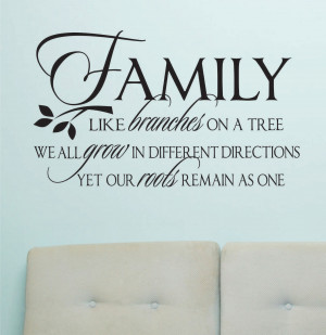 family tree quotes tattoo vinyl wall lettering family quotes about