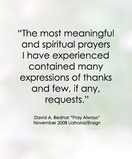 LDS Quote by David A. Bednar #prayer #faith #gratitude #blessings http ...